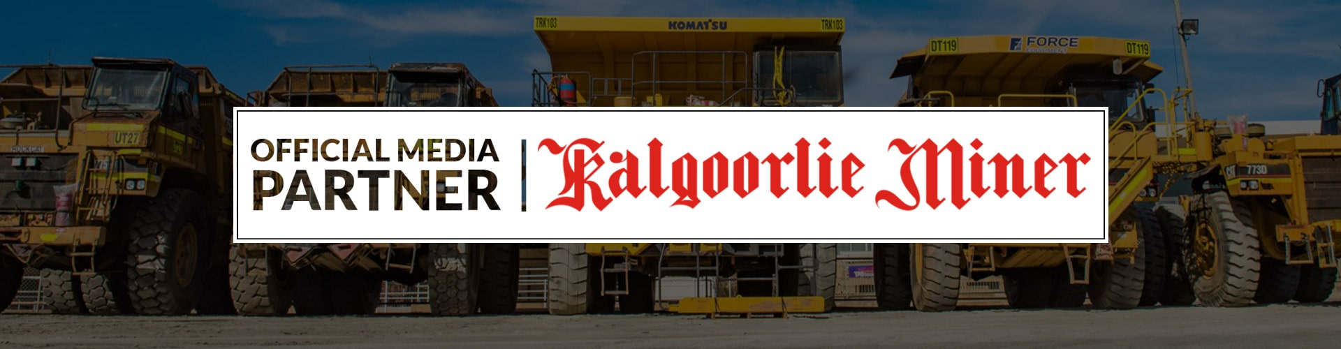 Official Media Partner Kalgoorlie Miner